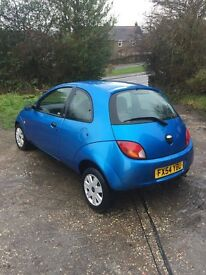 Ford KA Collection 2004/54 1.3L Blue