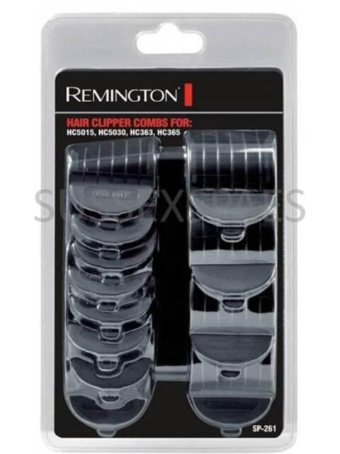 GENUINE REMINGTON COMB GUIDES, 12 PACK SP261, HAIR CLIPPER, HC5015 5030 363 365