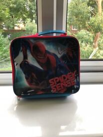 FREE SPIDERMAN COOL LUNCH BAG USED