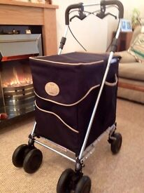 Genuine 'Sholley' Shopping trolley for sale. Immaculate, as new, with hand brakes £49, Stormont area