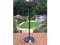 For sale electric garden heater in very good condition