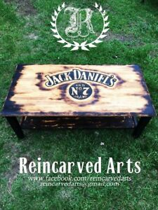 Jack Daniels coffee table