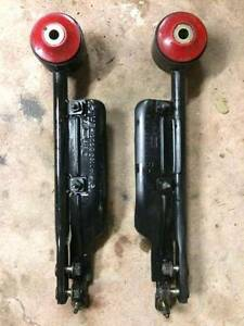 S14 Left & Right Radius Caster Rods w/brake ducts - poly bushes Berowra Hornsby Area Preview