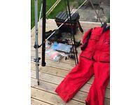 Job lot of sea fishing gear