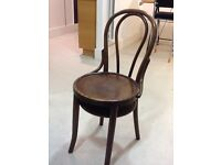 Attractive Bentwood original bistro chairs