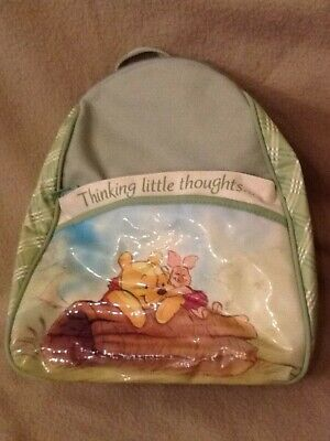 Dolly Disney WINNIE THE POOH Baby Green Backpack Shoulder Bag