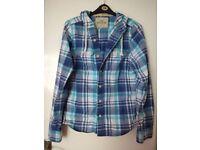 Mens HOLLISTER Hoody Shirt/jacket ~ MEDIUM (approx 42')