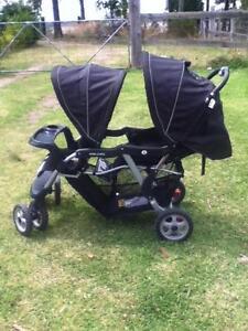 VeeBee DoubleTake tandem stroller Wyee Lake Macquarie Area Preview