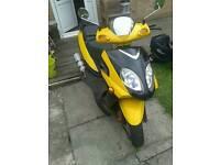 50cc 4 stroke moped