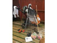 Golf clubs set selling as a whole