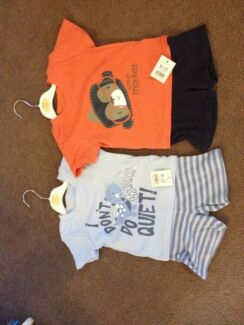 Boys T Shirt and shorts set brand new x2 Coogee Eastern Suburbs Preview