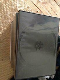 DVD/cd cases x20