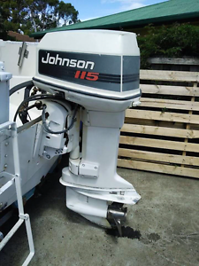 Johnson 115Hp V4 Outboard. Lindisfarne Clarence Area Preview