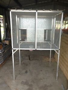 Double bay  snakeproof cage Rosewood Ipswich City Preview