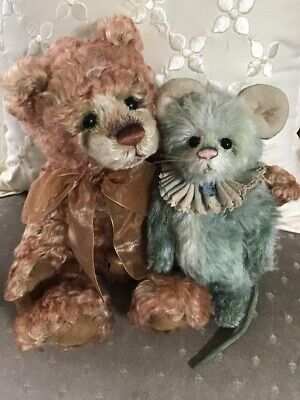 Charlie Bears PORT n STILTON 2012 Isabelle Mohair Collection FREE US SHIP