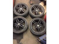 Dare Motorsport 4x100 Alloy wheels