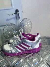 Girls adidas ortholite trainers size 1