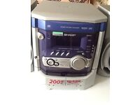 Three cd changer stereo for sale