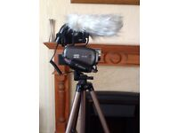 Canon HG20 Camcorder with accessories