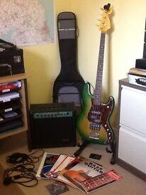 BASS GUITAR & AMP & ACCESSORIES