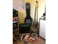 BASS GUITAR & AMP & ACCESSORIES