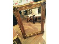 Amazing Large gold Wall MIRROR.