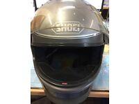 Vintage SHOEI Z-100 Motorcycle Helmet w C10 Viser Mens 2XL 63cm