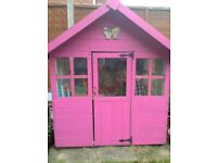 Wooden Play House