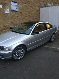 *FOR SALE* BMW SILVER 3 SERIES 2001 petrol automatic