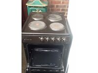 Indesit electric cooker grill place hobs