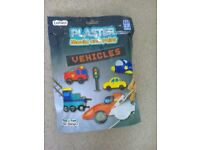 i - create plaster mould and paint vehicles brand new
