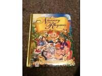 Nursery ryhmes book