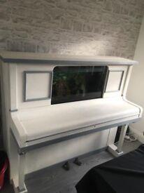 Handmade piano fishtank