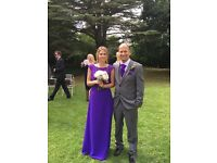 Bridesmaid dress. Cadbury purple. Size 8. Only worn once. Very good condition.