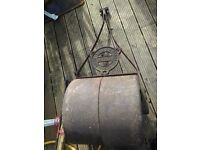 antique ransomes, sims and jefferies large garden roller