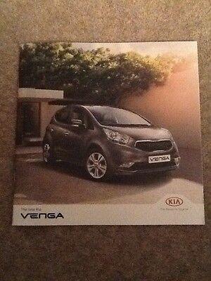 KIA - The New Venga UK Sales Brochure 2015