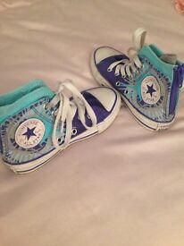 Converse all stars size 10.5 kids