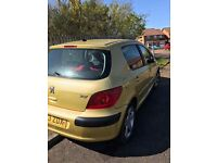 Peugeot 307 SE * cheap runabout with years mot*