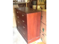 Chest of Drawers Mahogany