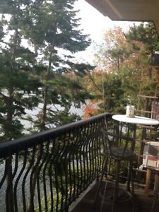 2 BR furnished waterfront sublet Jan. 1 to April 30, 2018