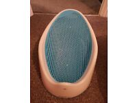 Baby Angelcare bath seat in blue