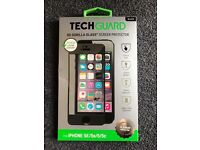 Tech Guard iPhone 5/5s/5C/SE Glass Screen Protector