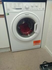 hotpoint washer about 6 months old