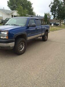 Chevy 2500 hd 6L 18000 but I am open to offers give me a shout