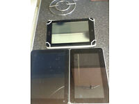 3 Faulty tablets (spares or repair)