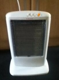 Portable Halogen Oscillating Electric Heater, 1200watt