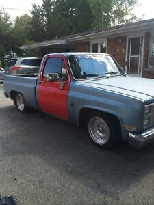1986 c10 short box project truck