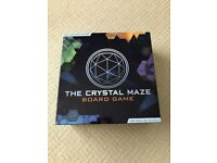 The Crystal Maze Board Game - as new