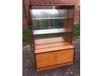 Vintage Teak GPLAN display cabinet