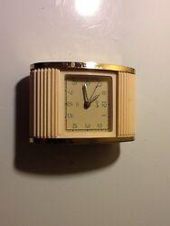 Vintage Bradley Alarm Clock Light Pink , 1 Jewel Alarm, Germany